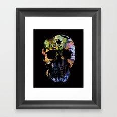 DALI SKULL Framed Art Print