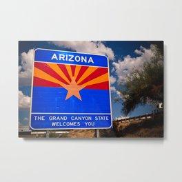 Arizona Star Metal Print