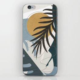 Abstract Tropical Art II iPhone Skin