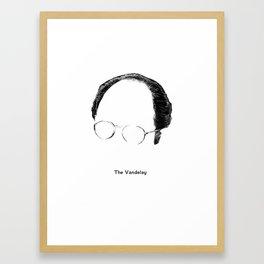 The Vandelay Framed Art Print