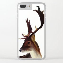 Wild deer Clear iPhone Case