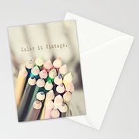 Color it Vintage Stationery Cards