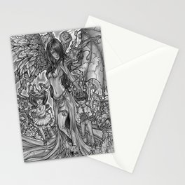 Devourer of Angels Stationery Cards