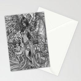 Devourer of Angels Stationery Cards