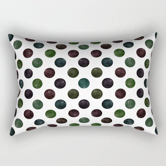Dots #2 Rectangular Pillow