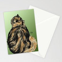 Tortoiseshell Cat - by Nina Lyman of Cats By Nina Stationery Cards