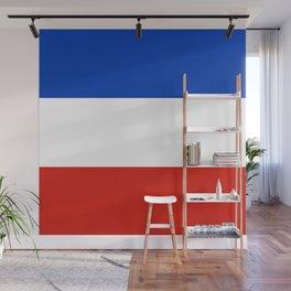 Flag of schleswig-Holstein Wall Mural