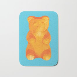 Gummy Bear Polygon Art Bath Mat