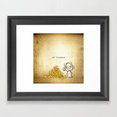 go bananas Framed Art Print