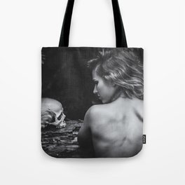 Throughout Tote Bag