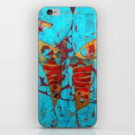 The Birth of the Butterfly iPhone Skin
