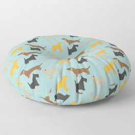 Dogs Floor Pillow