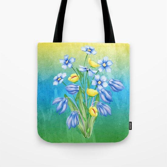 Flowers Bouquet #23 Tote Bag