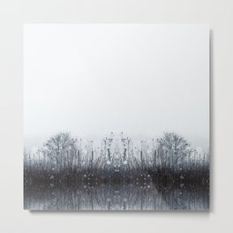 Winter is here by Brian Vegas Metal Print