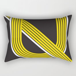 Ayp Armenian Lettering Rectangular Pillow