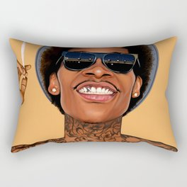 Just Smile Amigos Rectangular Pillow