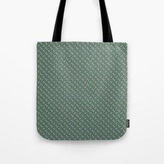 Graphic Old Fashioned Leaf Lattice Pattern Tote Bag