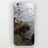 maine iPhone & iPod Skins featuring Maine Splendor by Catherine1970