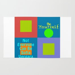 Be Yourself SV Rug