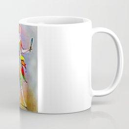 ART DECO LADY IN HARLEQUIN Coffee Mug