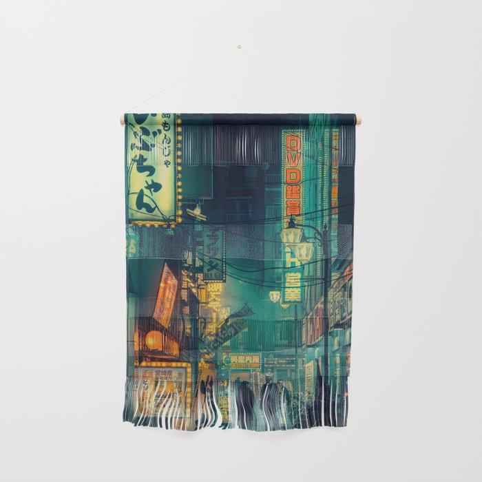Tokyo Nights / Memories of Green / Blade Runner Vibes / Cyberpunk / Liam Wong Wall Hanging