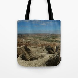 Amazing Badlands Overview Tote Bag