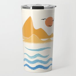 Minimalistic Summer III Travel Mug