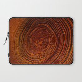 Magma Tree Rings Laptop Sleeve