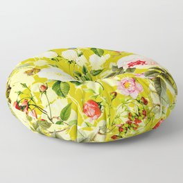 Botanic Floral Floor Pillow
