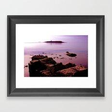 Pladda Sunset Framed Art Print