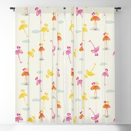 Angry Animals - Flamingobrella Blackout Curtain