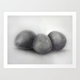 The Fruits Art Print