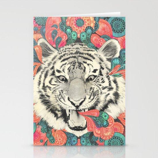 bengal mandala Stationery Cards