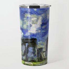 Stonehenge Vincent Van Gogh Travel Mug