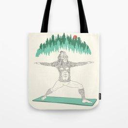 Yogi Sass Tote Bag