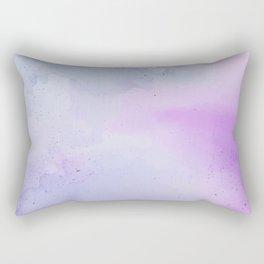 Soft Watercolours - Lavendar Rectangular Pillow