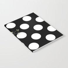Out on a Limb - Polka Dot Owl Moon Notebook