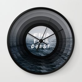 Find Your Coast Wall Clock