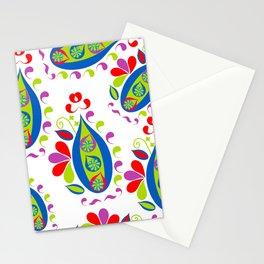 Paisley pattern #5S Stationery Cards