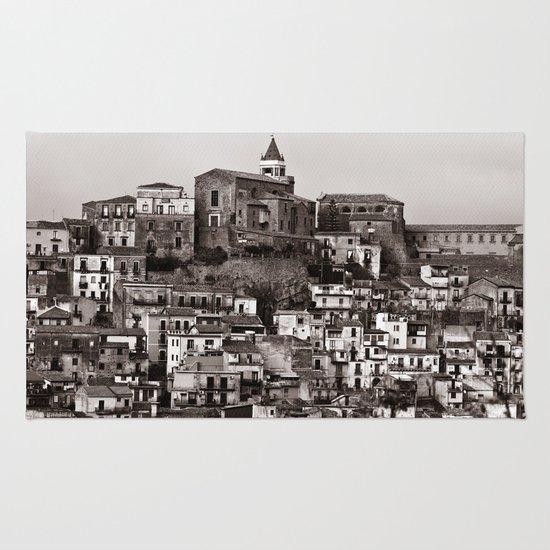 "Urban Landscape - Cathedrale - Sicily - Duplex - ""VACANCY"" zine Rug"