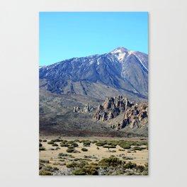 El Teide 1.1 Canvas Print