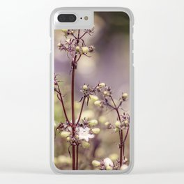 Fairy bloom Clear iPhone Case