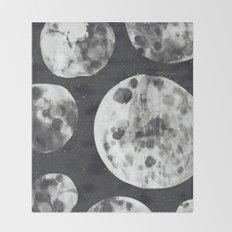 Moons Throw Blanket