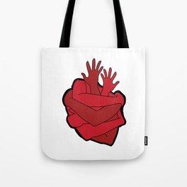 heart myself Tote Bag
