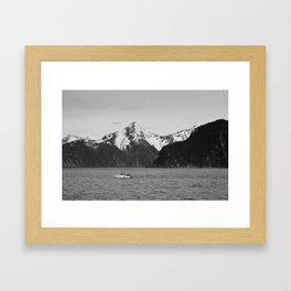Fishing boat Framed Art Print