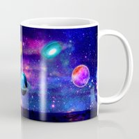 universe Mugs featuring Universe by haroulita