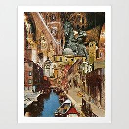 Valiant Venezia Art Print
