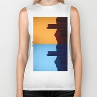 denver Biker Tanks featuring Denver, Colorado by Augustina Trejo