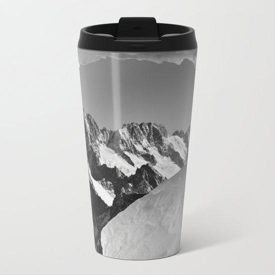 French Alps, Chamonix, France. (1) Metal Travel Mug