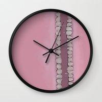 teeth Wall Clocks featuring Teeth by Conrad
